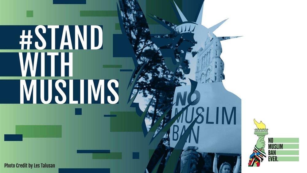 no muslim ban ever