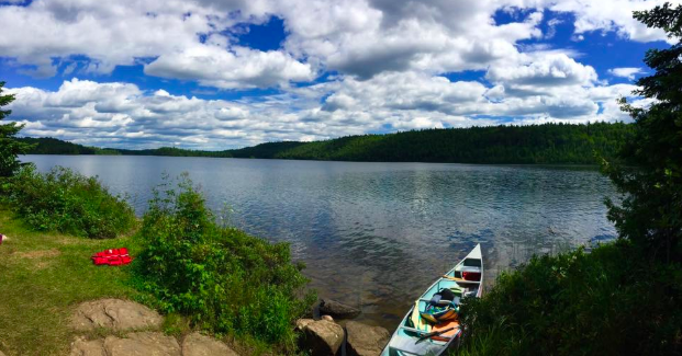 The lush green boreal forest spotted with clean glacial lakes on our Northern border is a jewel in this world. - Photos by: Duana G.