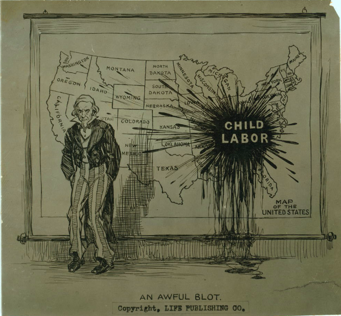 Library of Congress 1914 on Child Labor