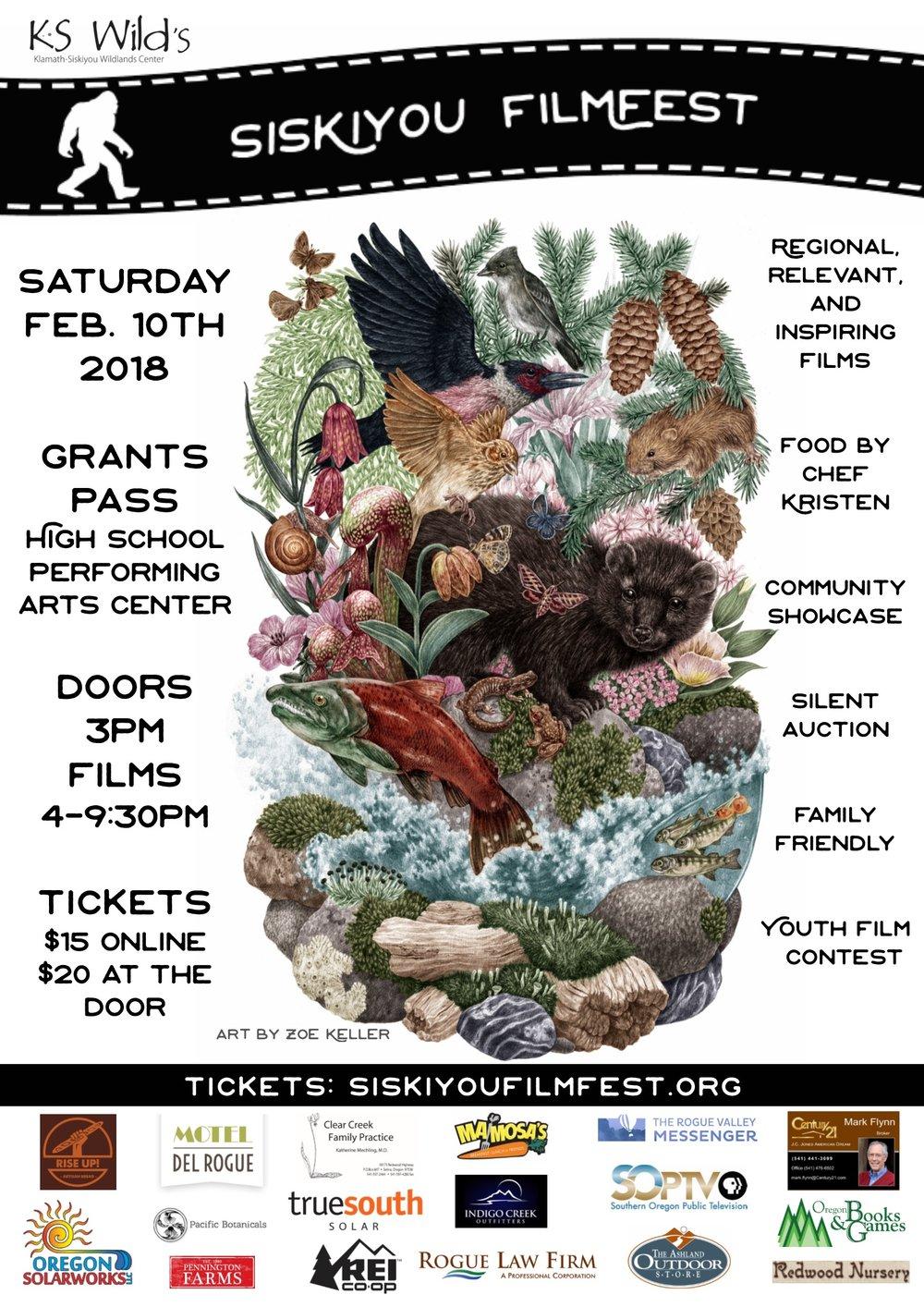 Siskiyou Film Festival 2018