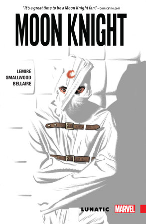 Moon Knight Lunatic by Jeff Lemire and Greg Smallwood