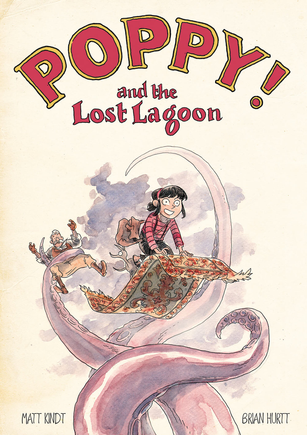 Poppy and the Lost Lagoon by Matt Kindt and Brian Hurtt