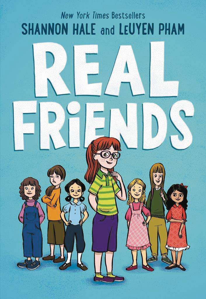 Real Friends by Shannon Hale & LeUyen Pham