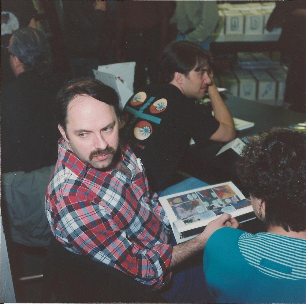 Michael T. Gilbert (front), Michael Allred (back)