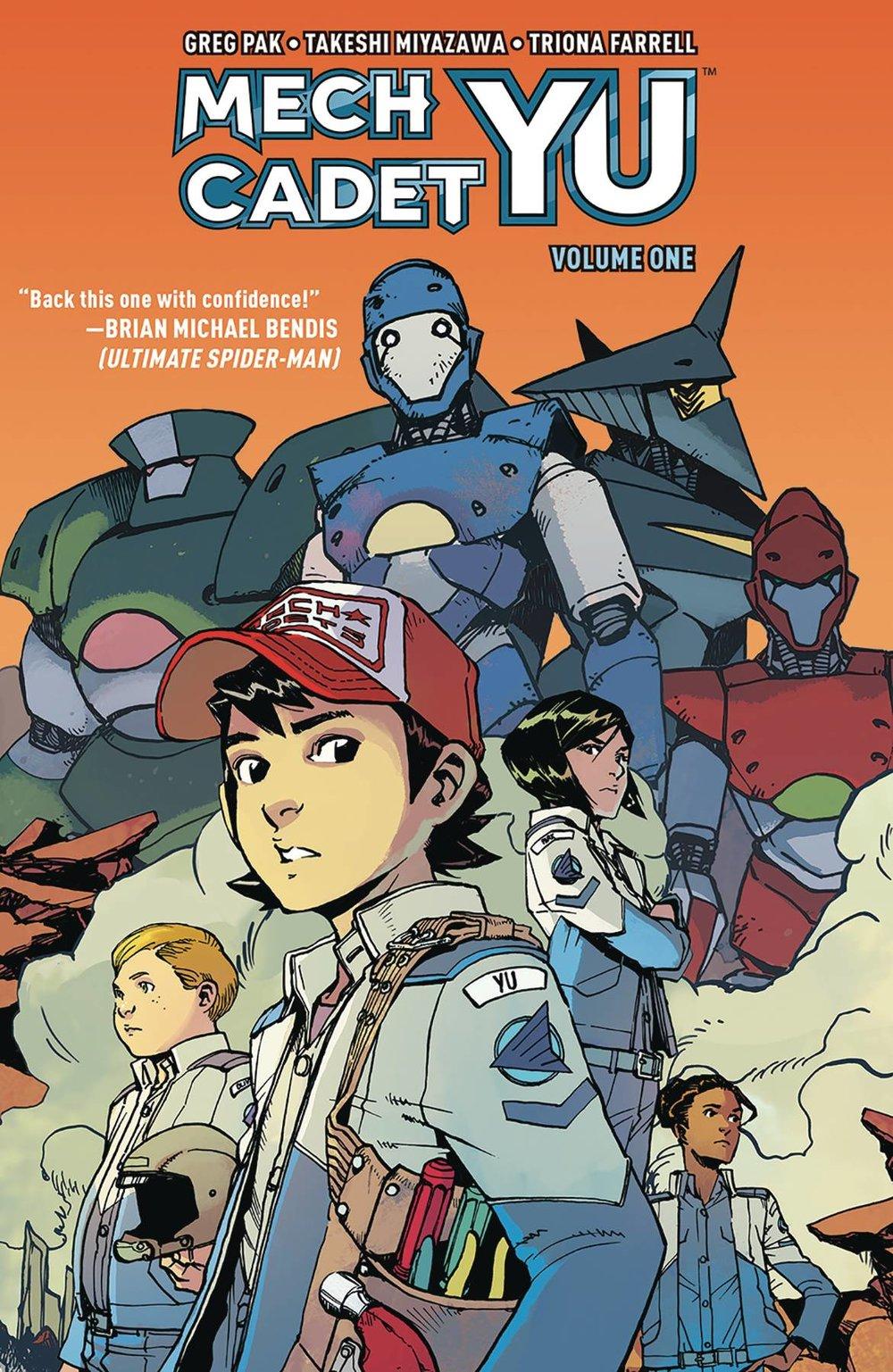 Mech Cadet Yu by Greg Pak & Takeshi Miyazawa