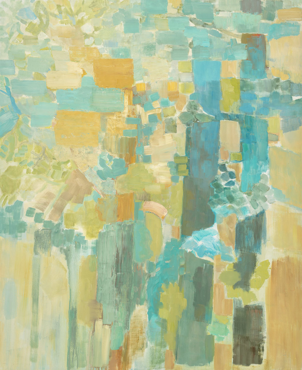 SUMMER WOOD  •  oil on wood  •  44 by 36 inches  •  2012