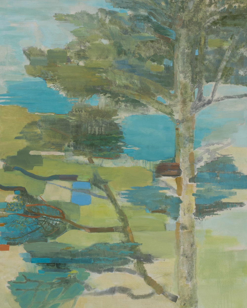 MONTARA • oil on canvas • 72 by 58 inches • 2011