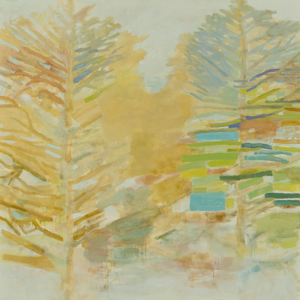 SEASON OF LIGHT • oil on canvas • 58 by 58 inches • 2011