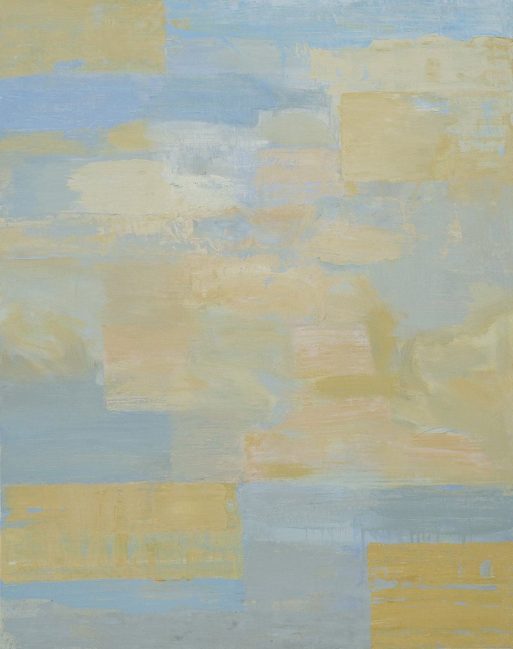STATE OF SKY  •  oil on wood  •  38 by 30 inches  •  2008
