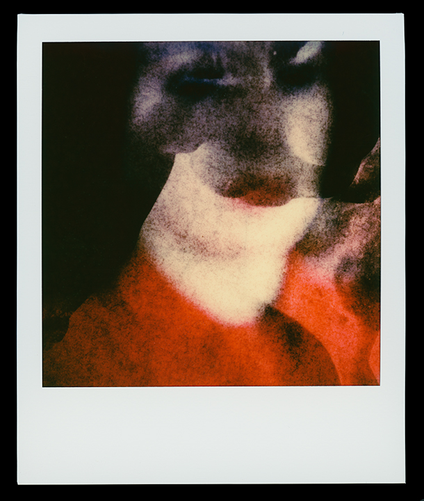 Frame # 32   Virgo    Solo Exhibition    Escape Artist Studios   SX70 Film, monoprint  Light Chamber, Type V  2019