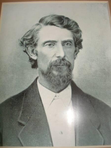 Above: Cornelius Flagg