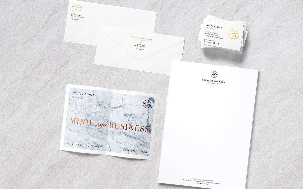 BUSINESS STATIONERY -