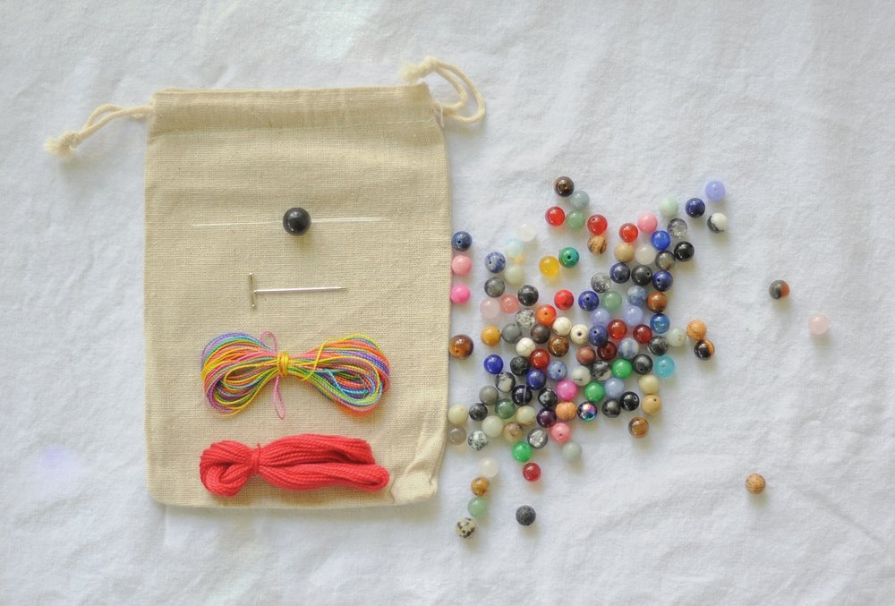 DIY MALA NECKLACE w/ ARABELLA: CURATED & CULTURED - MAY 3     6:30PM - 8:30PM