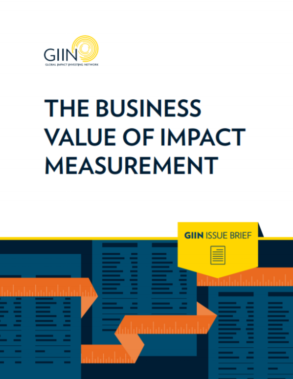 SVT - Impact Management, PDF, Impact Measurement
