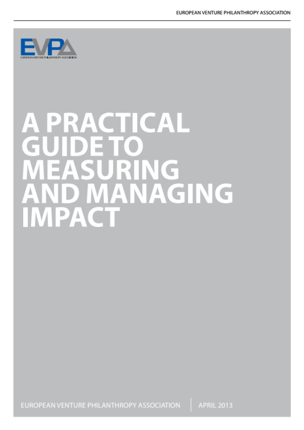 SVT - Impact Management, PDF,   A Practical Guide to Measuring and Managing Impact