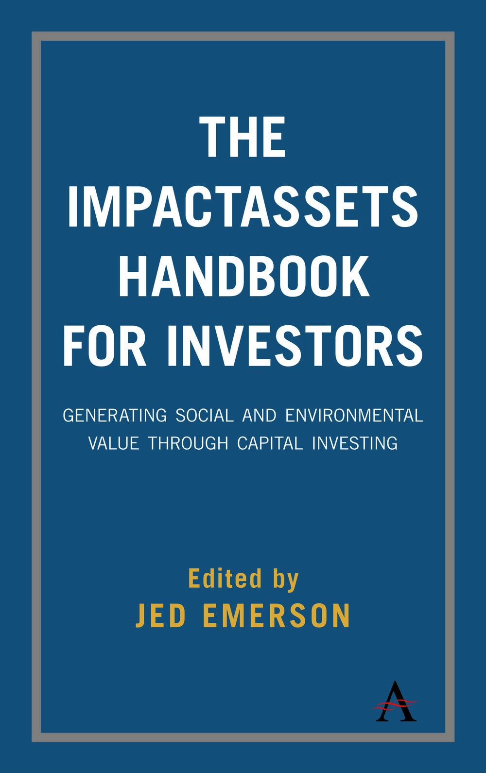 SVT - Impact Management, PDF, Handbook for Inverstors