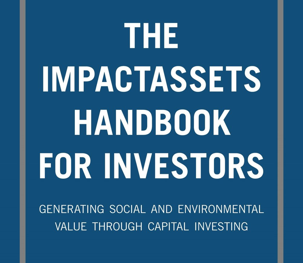 SVT - Handbook, Investors, Silicon Valley. Impact Management