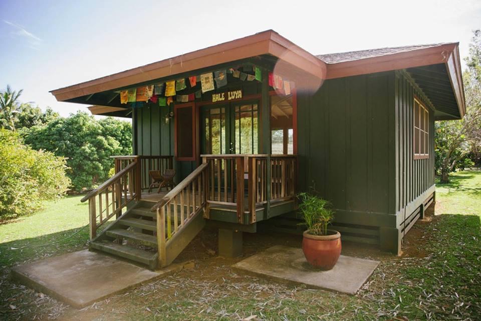 Hale Luya Yoga Studio, Kauai, Hawaii.