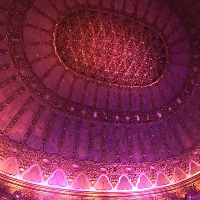 Belasco Theater ceiling
