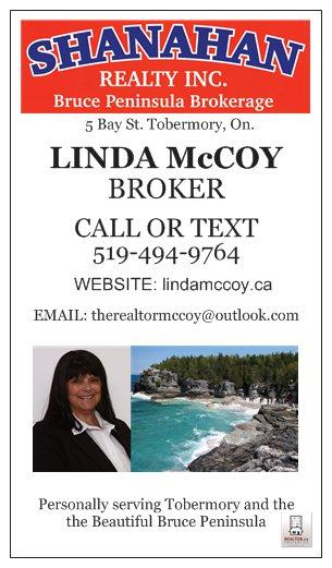 LINDA McCOY - SHANAHAN REALTY INC.