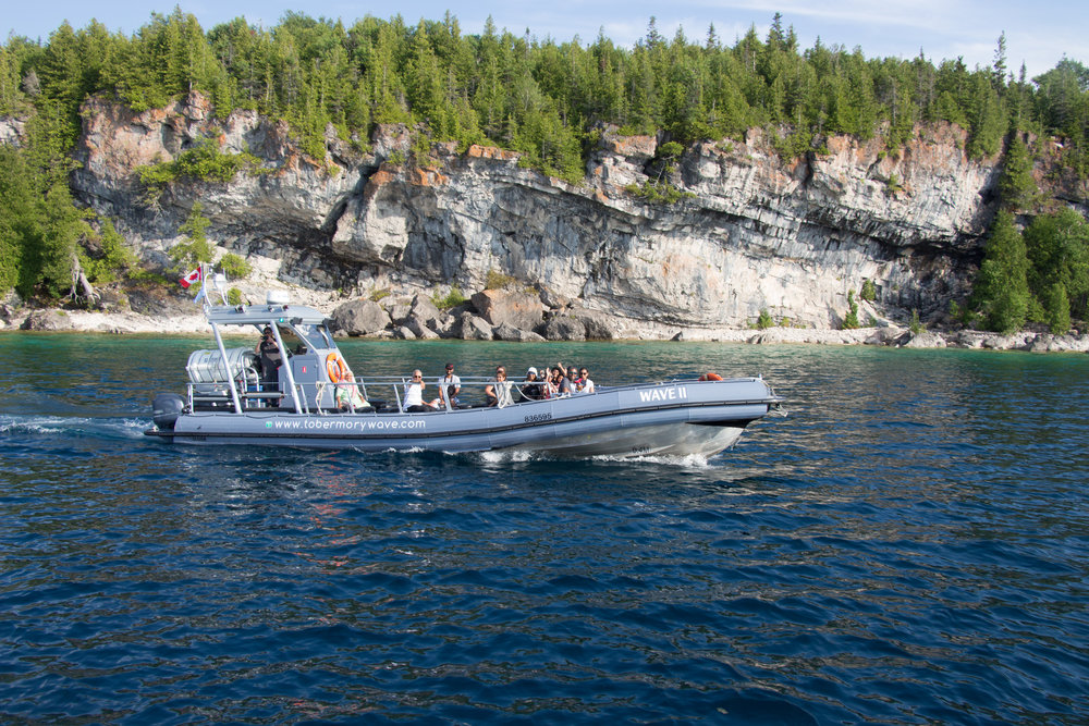 THE WAVE TOUR - Sun on your face, wind in your hair and wilderness as far you can see. Discover somewhere new on our signature 2.5 hour interpretive boat tour on board the WAVE II. Enjoy a breathtaking experience in Canada's first National Marine Park.Adults - $49 plus tax. Book your next adventure now!