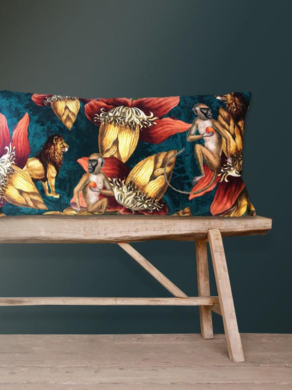 Velvet large cushion jungle 2.jpg