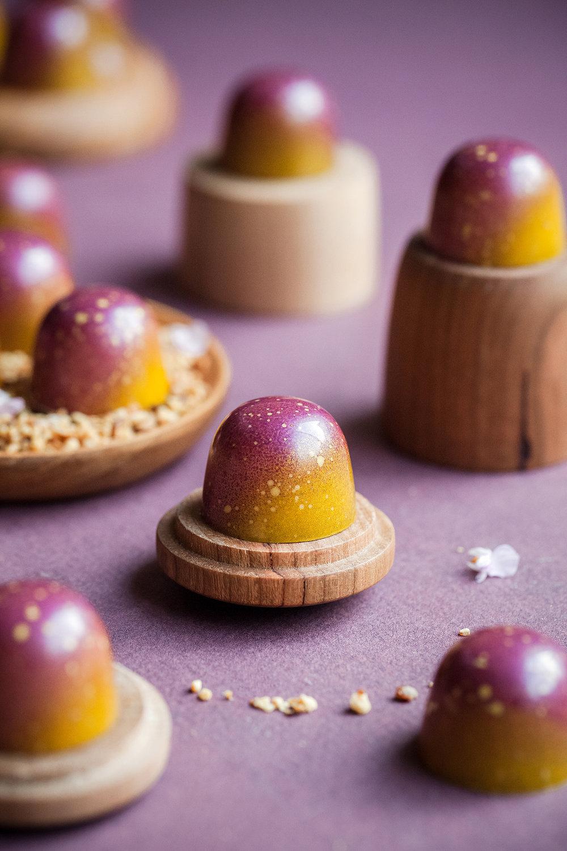 Blackberry, Lemon & Almond Praline Bon Bons - Teresa Floyd.jpg
