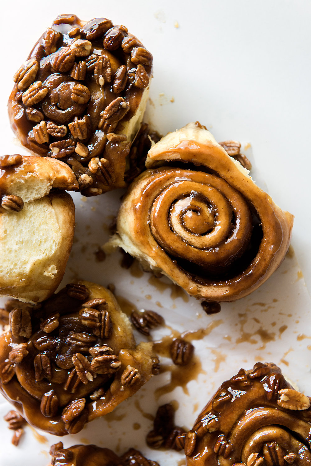 Baby Pecan & Cara Cara Orange Caramel Sticky Buns - Now, Forager - Teresa Floyd Photography.jpg