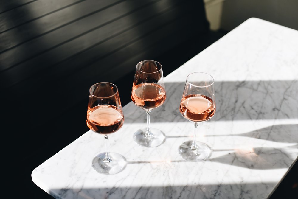 Amigoni Winery's rosé.