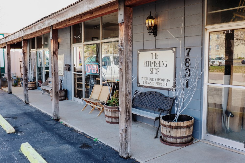 McNary's Antiques and Refinishes. Photos by Anthony West.