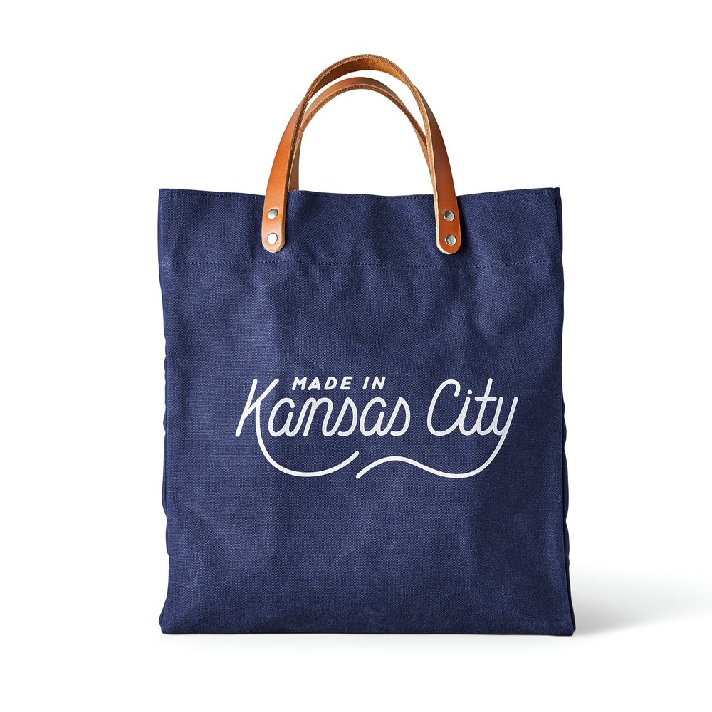 Made in Kansas City x Sandlot Goods Tote