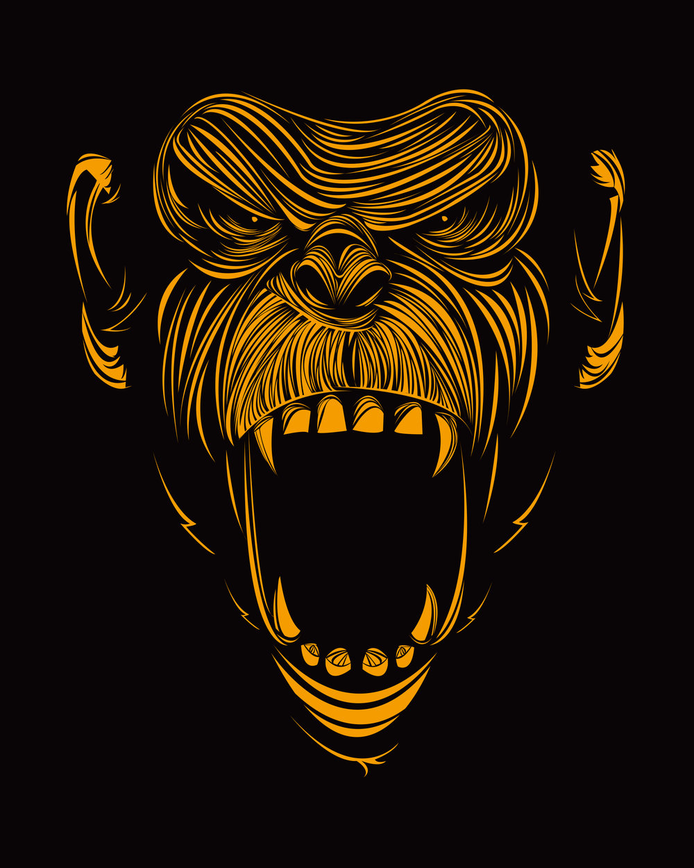 Onnit Screaming Chimp