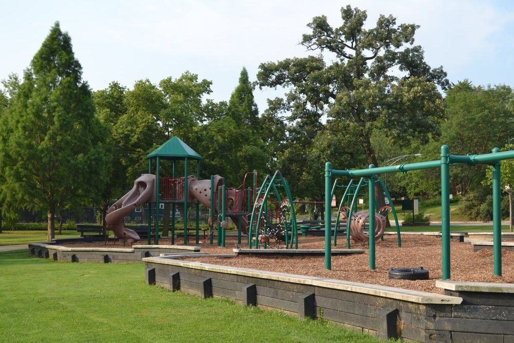 Cosme Park; located one block east