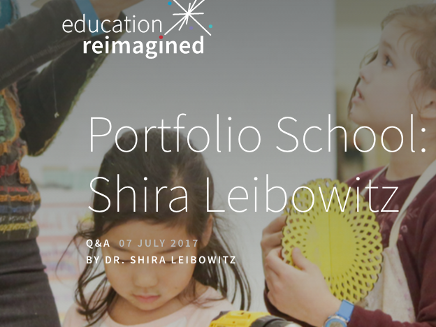 Read... - Meet an inspirational school leader. In this interview with Education Reimagined, Shira Leibowitz talks about her remarkable students and how they've thrived in a learner-centered environment