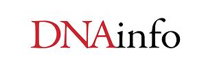 DNAinfo Logo, Chatman J Cakes