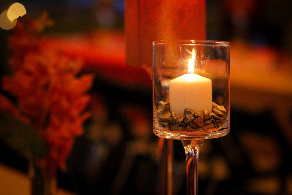 Standing Votive Candle Holder