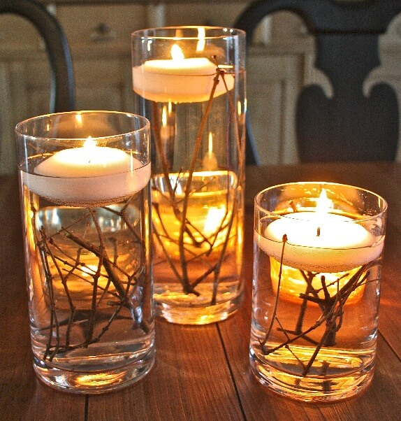 Branch Floating Candles