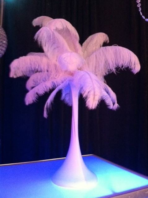 Feathered Centerpiece
