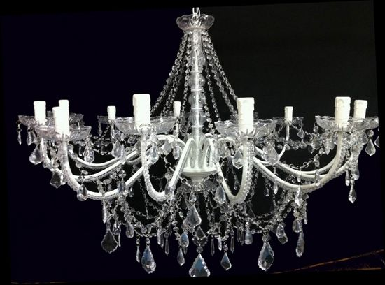 40' Crystal Chandelier