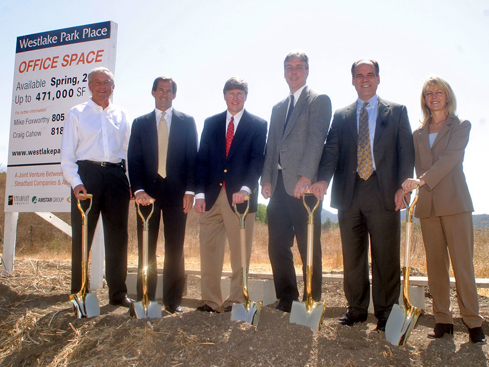 Westlake Park Place Groundbreaking – California
