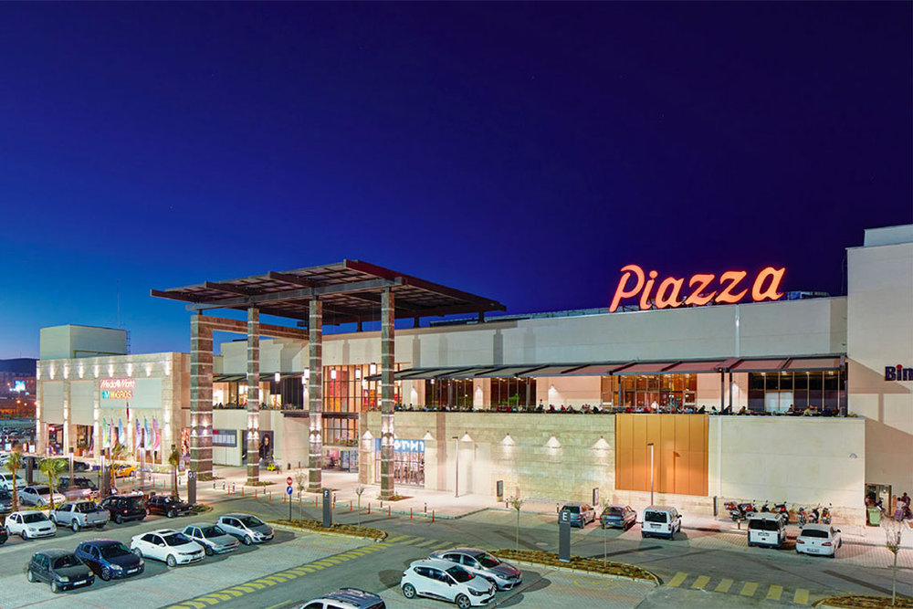 PIAZZA URFA PARK SHOPPING CENTER - Urfa, Turkey • 47,000 sqm • Retail • Acquired 2012