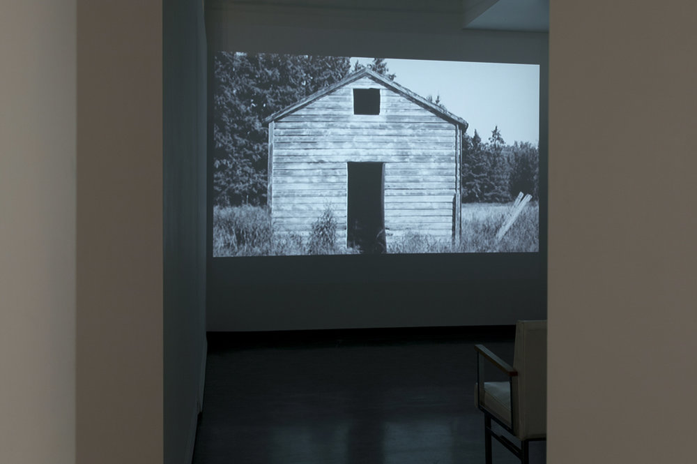 'Layers', video installation (photo by Kevin Bertram)