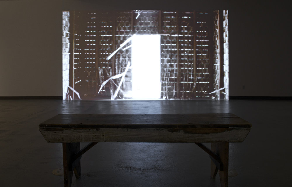 'Disturbance', video installation
