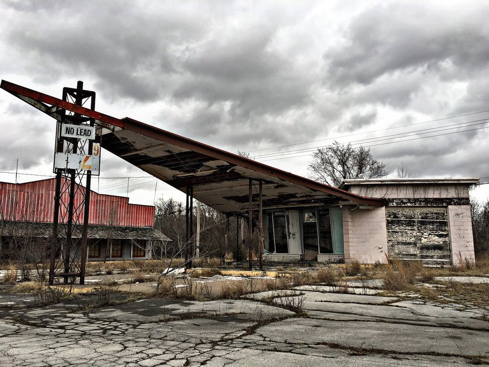 The rough inspiration for the gas station I will build in the town
