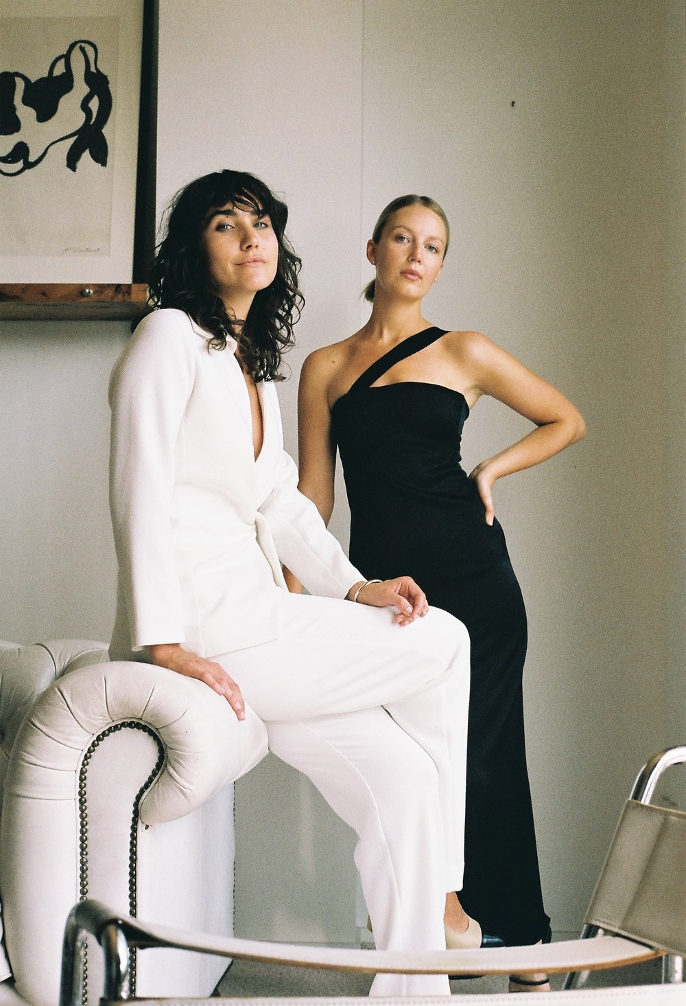 "Paris georgia basics:Interview with vouge  - ""Vintage can be so statement-y and overwhelming and sort of retro sometimes. We wanted to pair them with really modern sleek pieces and make it a little more fresh.""Read More"