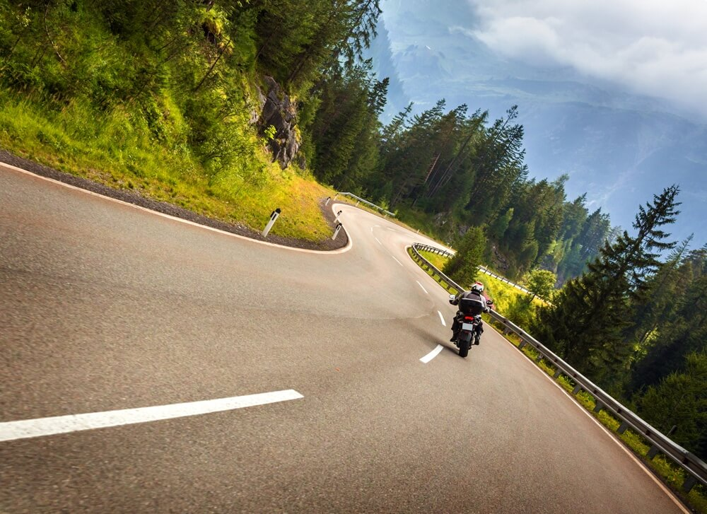 Best motorcycle routes in San Diego, California.