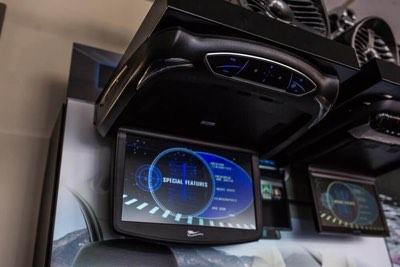 Car Television Screen Installation