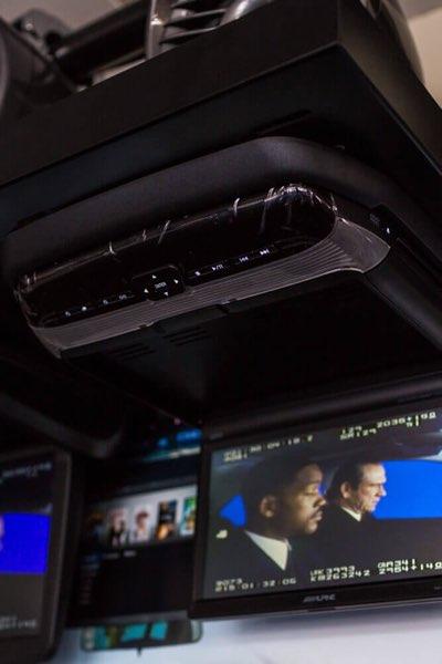 Flipdown Car DVD Player & TV Screen