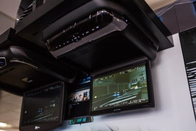 Install a New Flipdown Car Television Screen