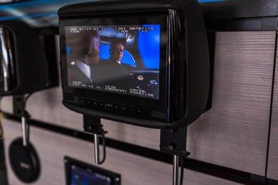 Headrest Television Monitor & TV Screen